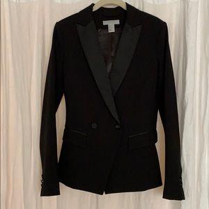 H&M slim fitted tuxedo jacket size 2